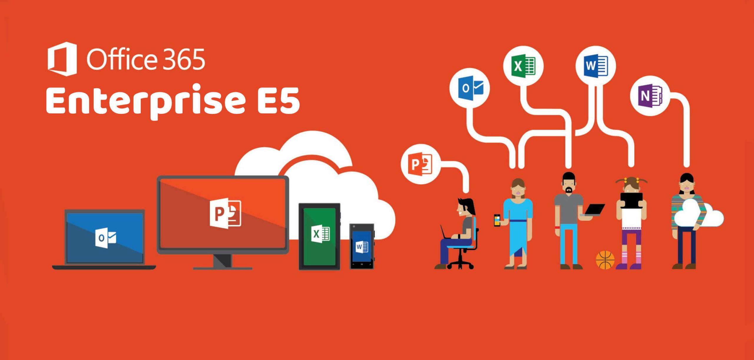 Sử dụng tài khoản Office 365 Enterprise E3