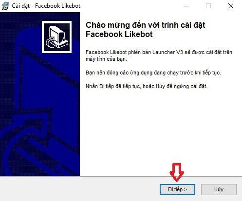 Tải phần mềm Fb Likebot